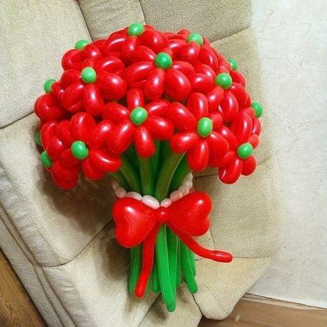 Букеты из шаров от 150р, шариков Донецк