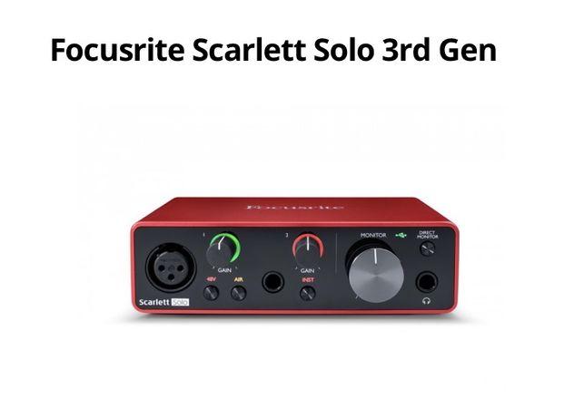 Focusrite Scarlett Solo 3rd Gen