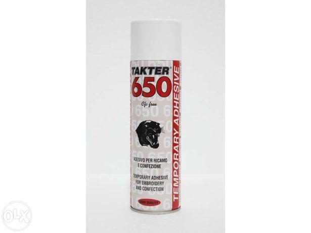 Spray de adesivo temporário - TAKTER 650