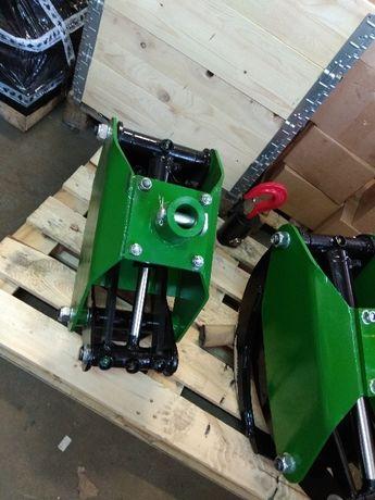 Kleszcze/chwytak do drewna / drzewa / bali/ stosu + Rotator 1 T / tona
