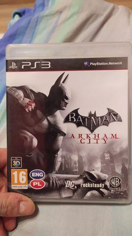 Gra Batman Arkham City j. Polski na konsole ps3 playstation 3