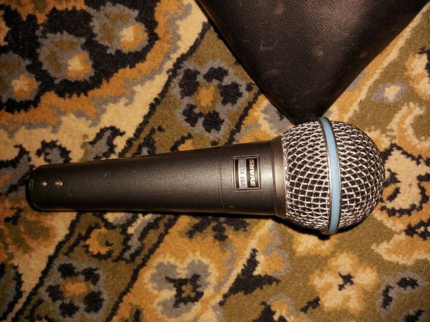 Mikrofon przewodowy shure beta 58A