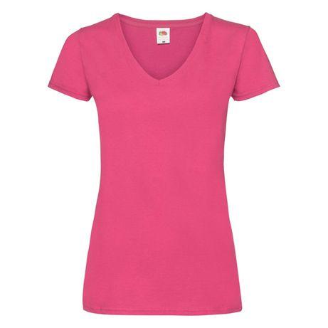 T-shirt damski w szpic Fruit of the Loom rozmiar XS