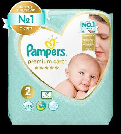 Памперси Pampers premium care 2