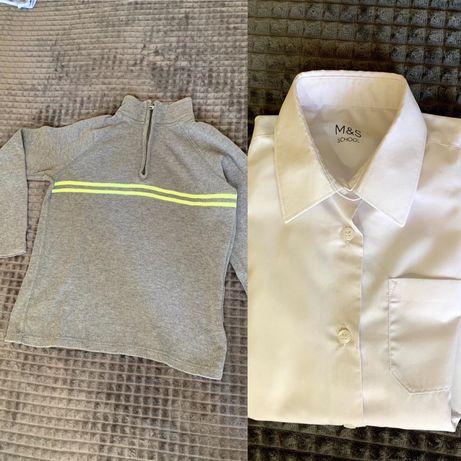 Дитячий одяг (сорочка і кофта)