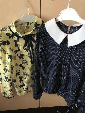 Школьные блузки девочка