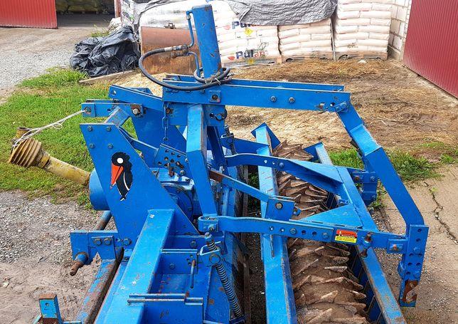 Agregat siewno uprawowy hydropack wał packera rototiller rabe werk 3m