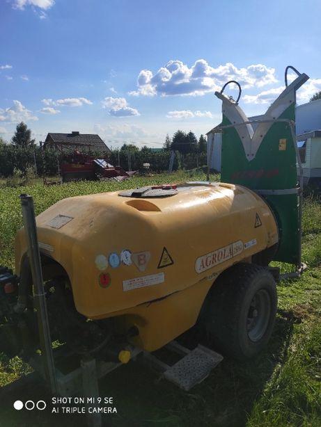Opryskiwacz sadowniczy Agrola TURBO 1500 elektrozawory ślęza lochmann