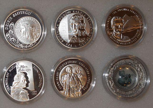 Монеты серебро Польши: Понятовский, Лещинский, Стеклодув, Иоанн Павел