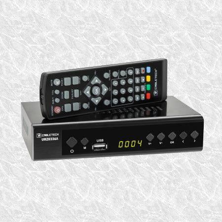 Dekodery DVB-T i T2 Cabletech336A+GRATIS kabel EURO