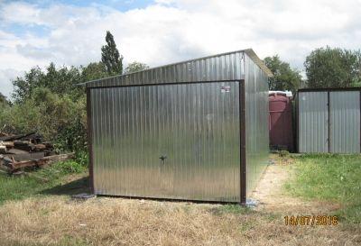 Ocynkowany Blaszak Nowy Garaż Blaszany 3x5