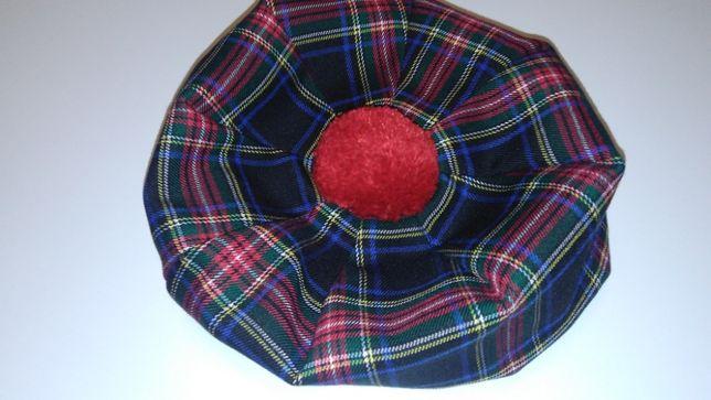 Шотландский берет. Подарок руководителю. Берет шотландский.