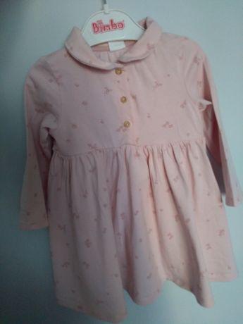 Sukienka różowa HM 74