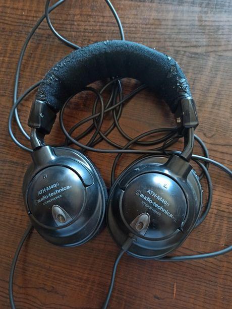 Słuchawki Audio-Technica ATH-M40fs czarne