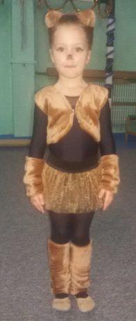 Карнавальный костюм бурундучка, белочки, кошечки на девочку 3-6 лет