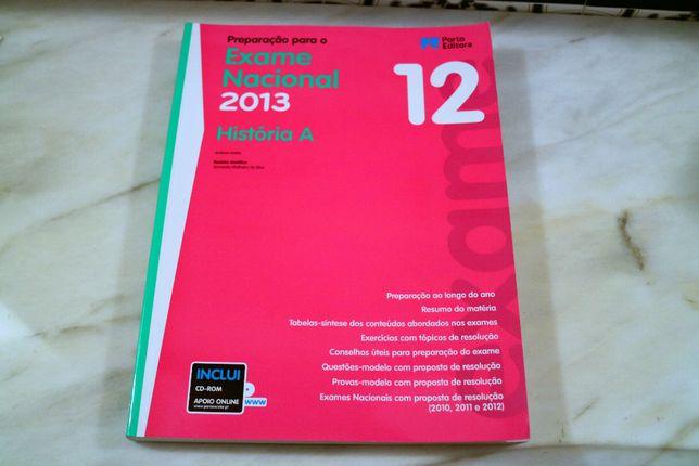 Livro Preparação para o Exame Nacional de História A