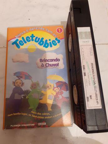 TELETTUBIES cassete  VHS filmeINFANTIL