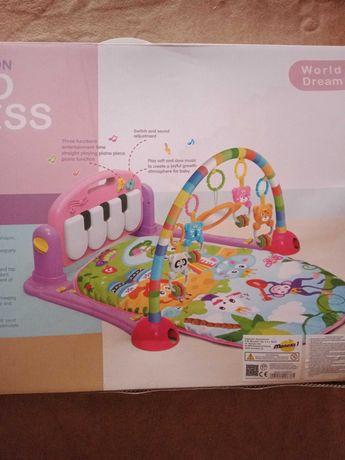 Mata dla dziecka piano fitness rack