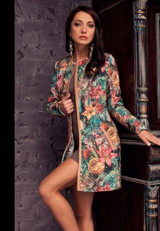 Молодежное стильное пальто Marani