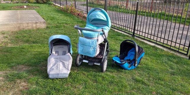 sprzedam wózek 2w1 baby design dotty i fotelik kiddy evolution pro 2