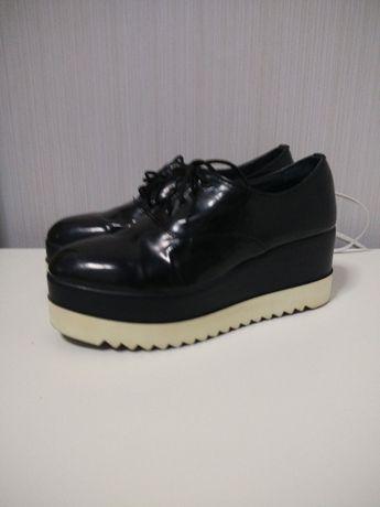 Туфли крипперы кожа