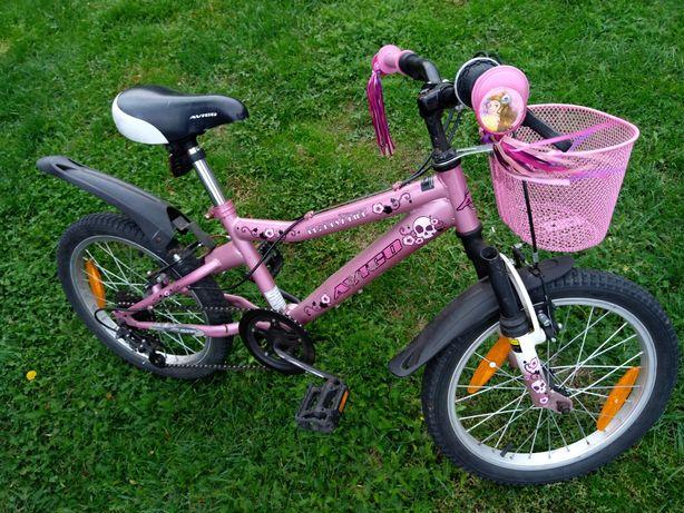 """Rowerek 18"""" Avigo dla dziewczynki"""