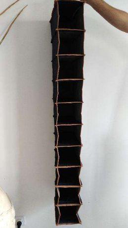 Sapateira / Organizador sapatos em Tecido Jeans