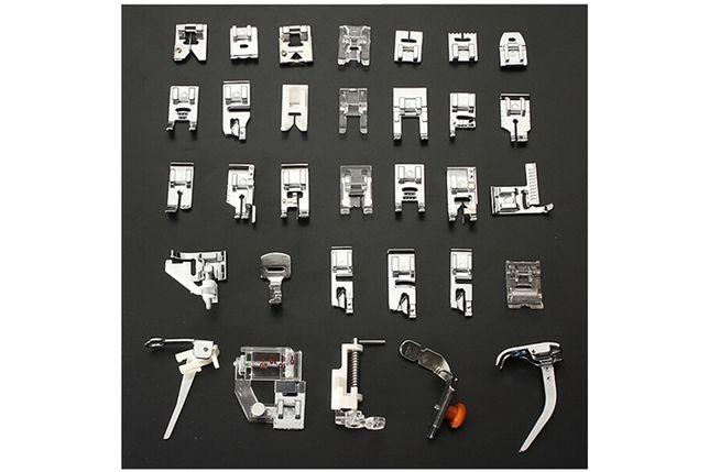 Calcadores para máquina costura - 32 peças