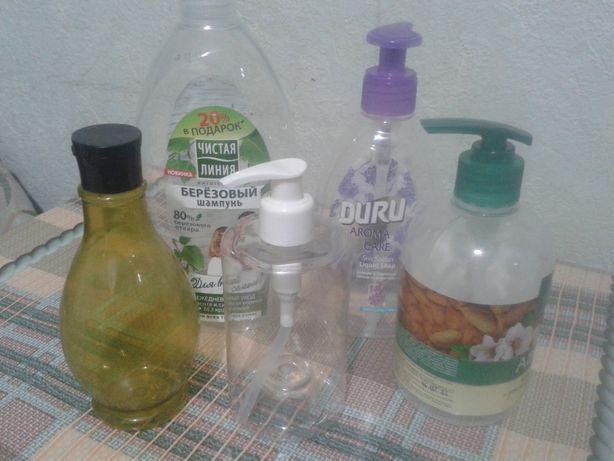 Баночки для жидкого мыла и порошка