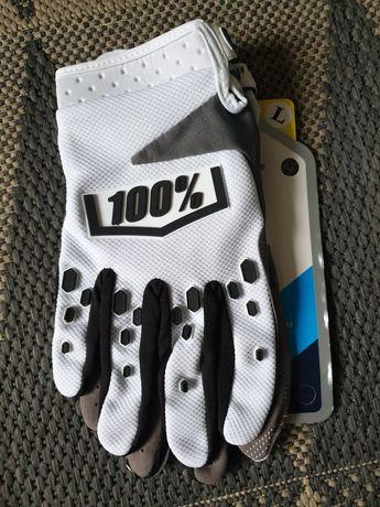 rękawiczki 100% sto procent rozmiar L fox dritpaw cross enduro quad