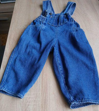 Spodenki ogrodniczki - jeans dla dzieci