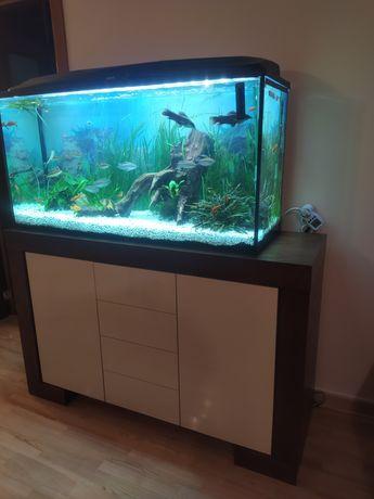Wzmocniona komoda i szafka RTV pod telewizor komplet pod akwarium