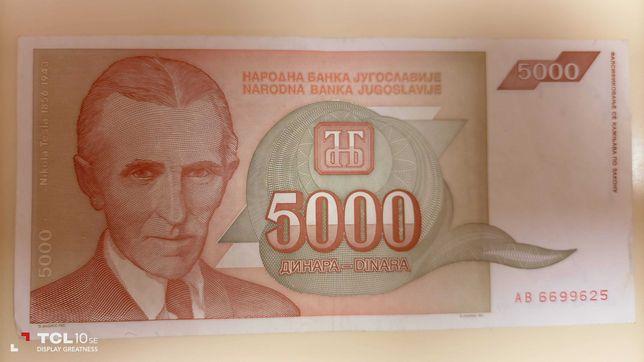 NOTAS - Jugoslávia