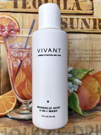 Засіб для вмивання 3 в 1 Vivant skincare mandelic acid 3 in 1 wash