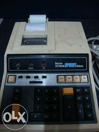 Maquina de calcular de escritório