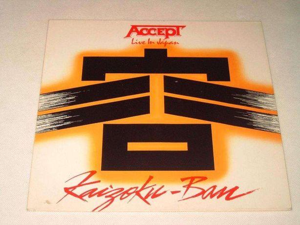 Płyta winylowa Accept – Ban Live In Japan