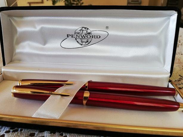 Zestaw długopis i pióro wieczne PENWORD