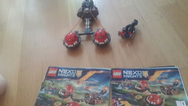 """Продам бу Lego """"Безумная колесница укротителя""""."""