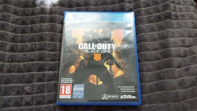 Call Of Duty Black Ops 4 PL PS4 jak nowa