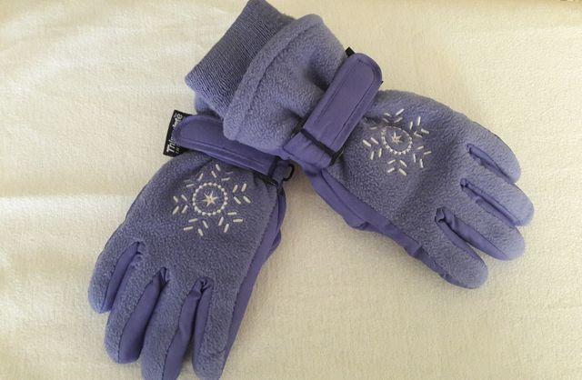 Детские перчатки на девочку 4-7 лет Охара Канада