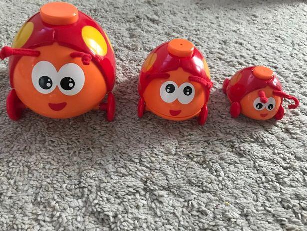 Rodzina biedronek zabawka niemowlę interaktywna smily