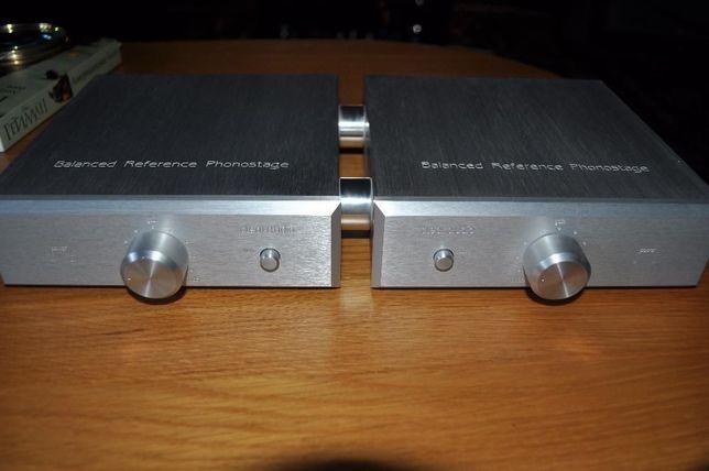 Фонокорректор Clearaudio Balanced Reference Phonostage Silver-G