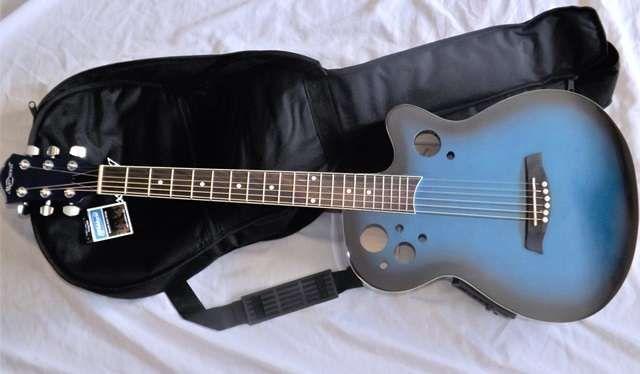 Guitarra eletroacústica de madeira - Marwell