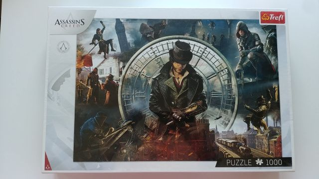 Assassin's Creed Puzzle Trefl 1000 el. Świat Assassynów Nowe