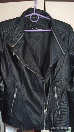 Куртка-косуха, кожзам