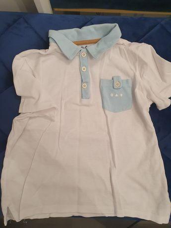 Elegancka biała koszulka 51015