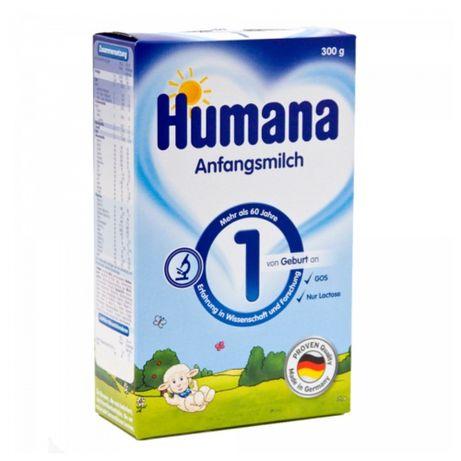 Сухая молочная смесь Humana 1 с пребиотиками, LC PUFA и нуклеотидами,