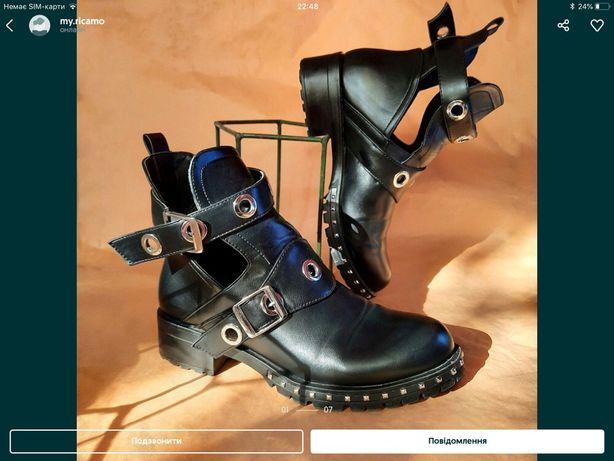 Стильные осенние ботиночки, ботинки, черевички, черевики