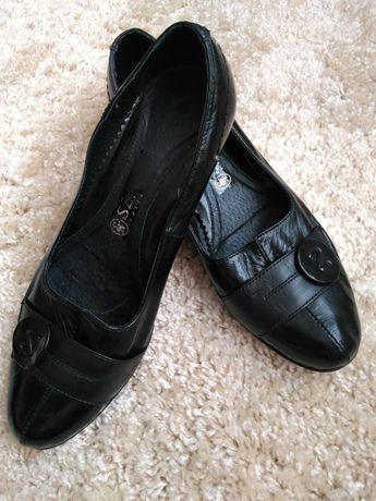 Туфли кожа лаковые