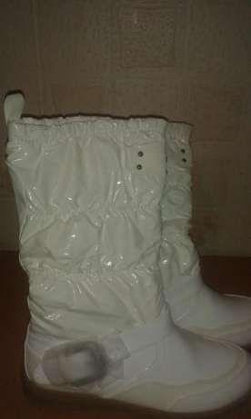 Białe Śniegowce Arnaud r.39
